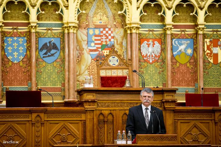 Kövér László az Országgyűlés elnöke