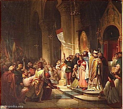 Montferrati Bonifácot megválasztják a negyedik kereszteshadjárat élére.