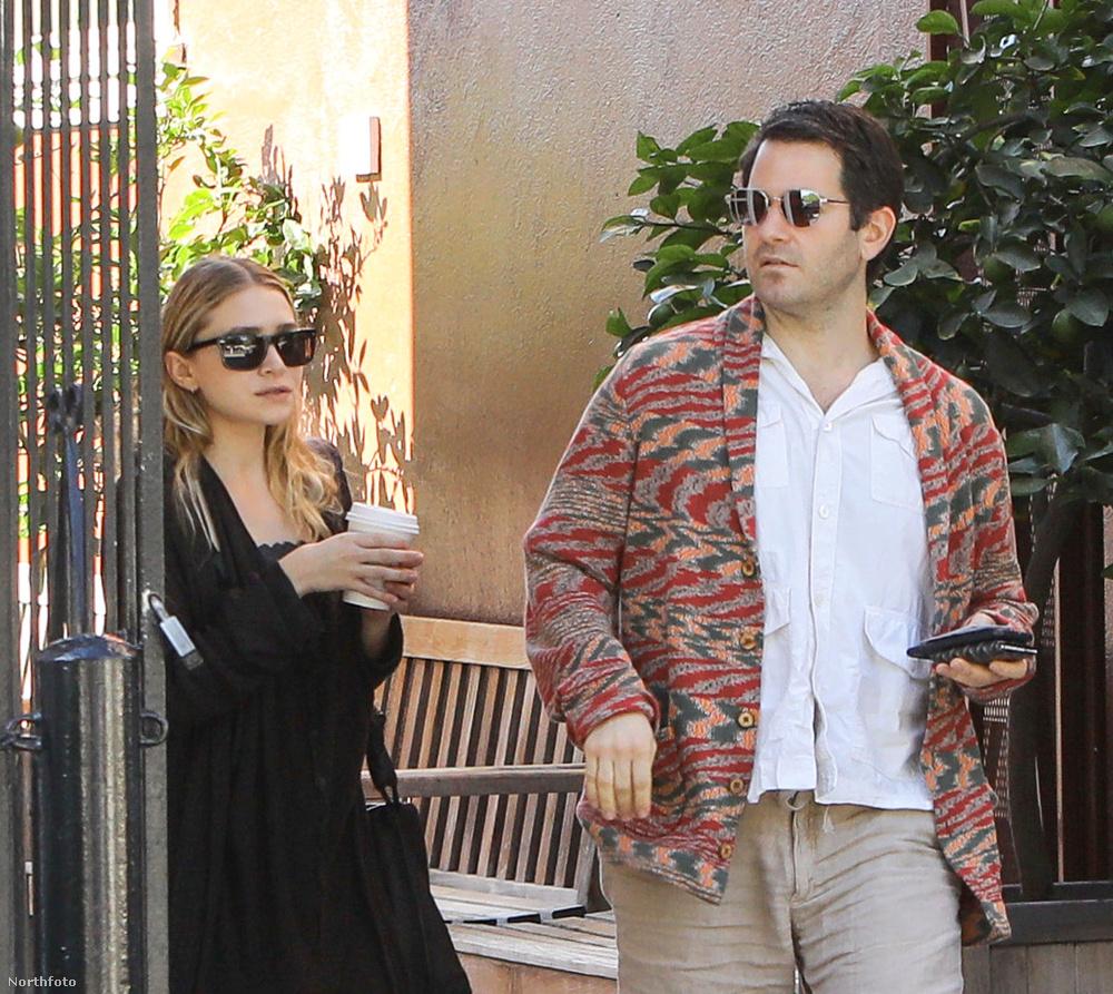 De mint a friss képek bizonyítják: az Olsen-lány nem maradt sokáig egyedül, íme az új pasija.
