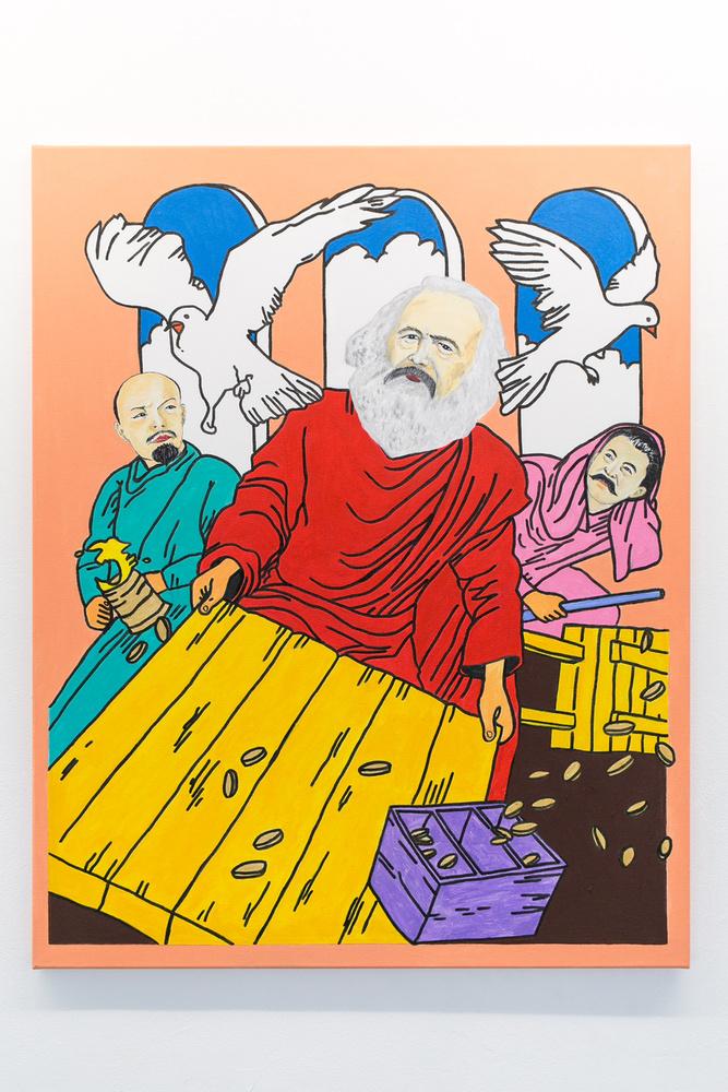 Marx megtisztítja a templomot