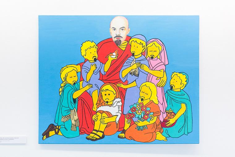 """""""Ma Lenin bácsi tartotta a hittanórát a címe"""