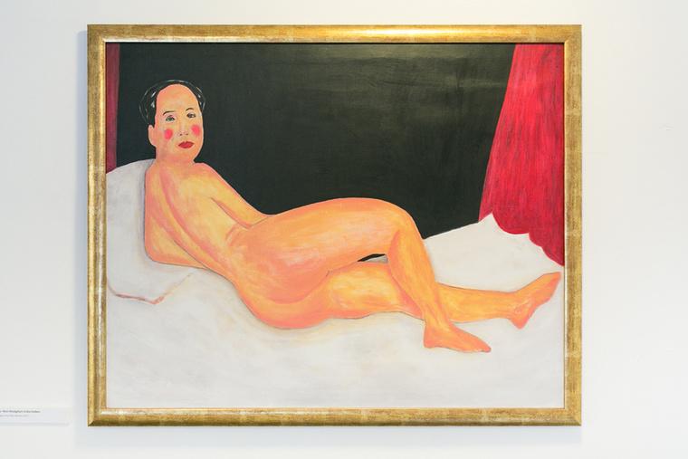Mao Modigliani műtermében: őt is haza lehet vinni.