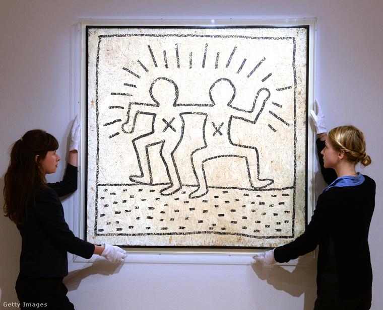 Keith Haring egy egészen kivételes életet élt, egyéni karriert futott be, de egy egyetemes szabály őrá is érvényes: halála után sokkal nagyobb becsben tartották/tarják a munkáit és azok ára az évtizedek múlásával csak fokozatosan emelkedik