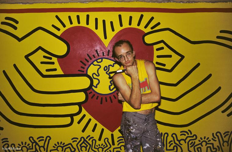 Keith Haring Pennsylvaniában született 1958-ban