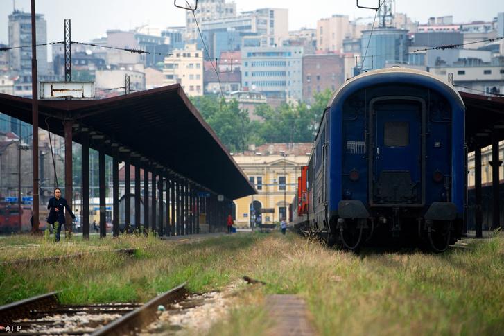 A belgrádi központi pályaudvar