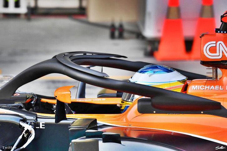 A McLaren talált helyet egy plusz szárnynak