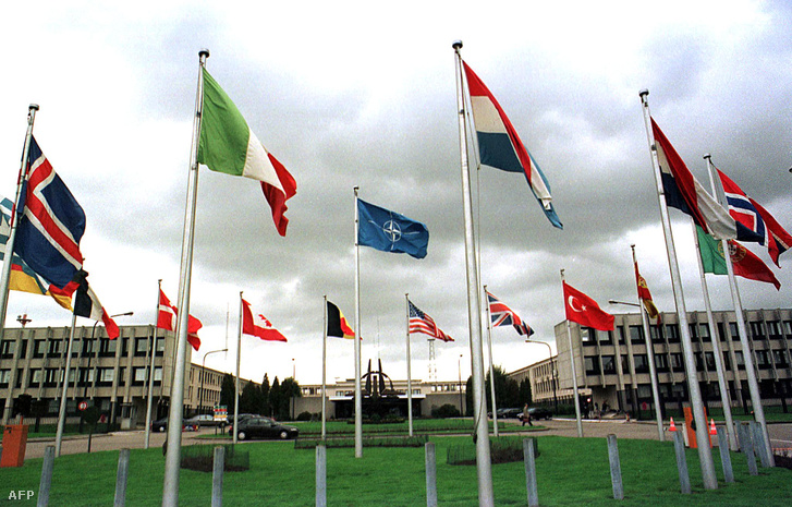 A NATO épülete Brüsszelben