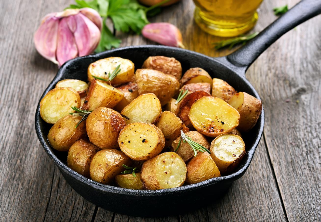 serpenyos krumpli
