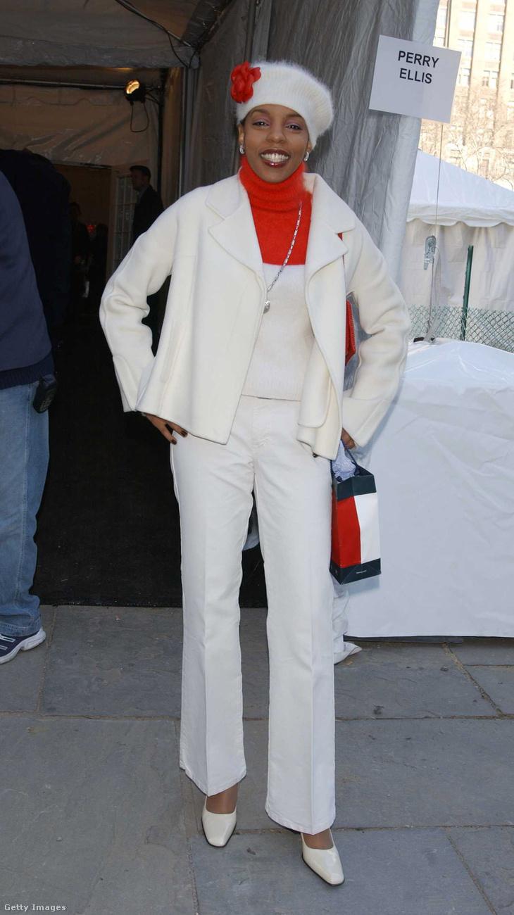A rapper Rah Digga 2002-es piros-fehér szettje napjainkban is menőnek számítana.