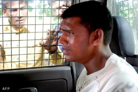 A három férfi február másodikáig őrizetben marad