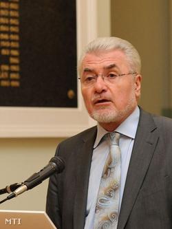 Pálinkás József, az MTA elnöke (Fotó: Kollányi Péter)