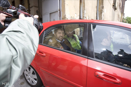 Hagyó letartóztatása tavaly májusbanFotó: Szigetváry Zsolt