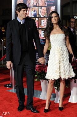 Ashton Kutcher és Demi Moore