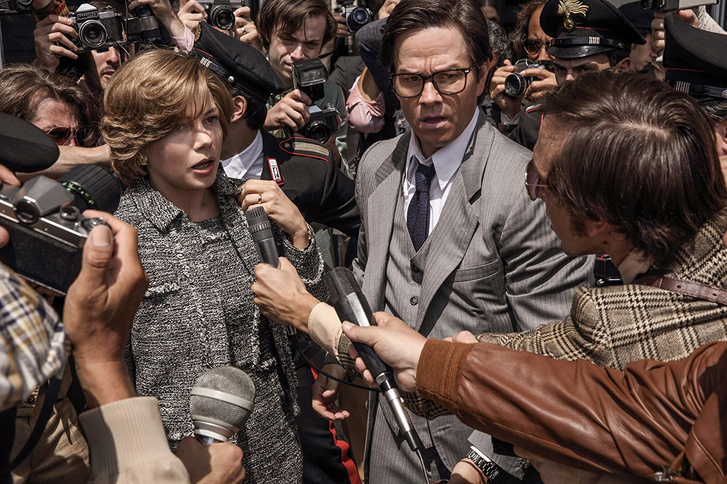 Michelle Williams és Mark Wahlberg a filmben