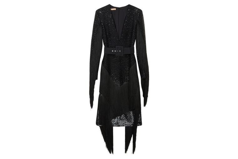 6940 fontos, kb.2,4 millió forintot fekete ruha a Michael Korstól.