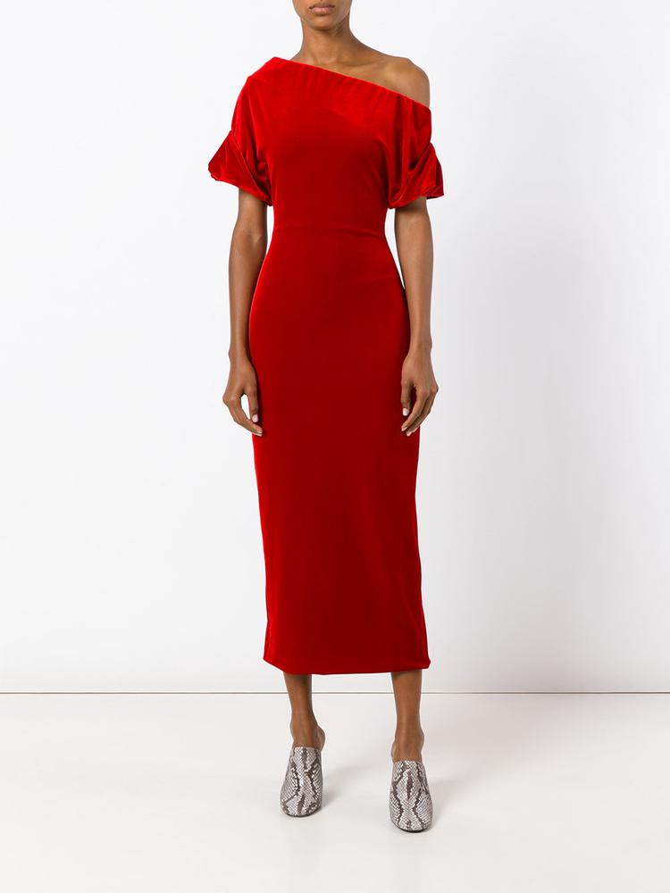 Romantikus piros ruha Christopher Kanetól 975 fontért, kb