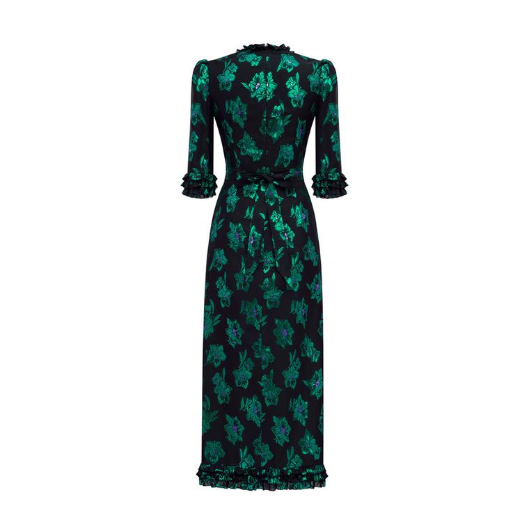 The Vampires Wife 1150 fontot, kb.400 ezer forintot kér a zöld virágos ruháért.