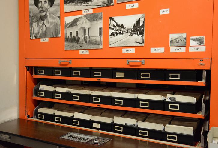 Fotótár és kartotékrendszer
