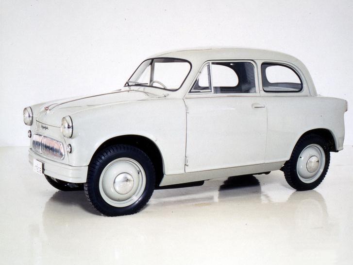 Óriási szerencséjéne négy évvel megelőzte a P50-est,, más néven 500-as Trabantot