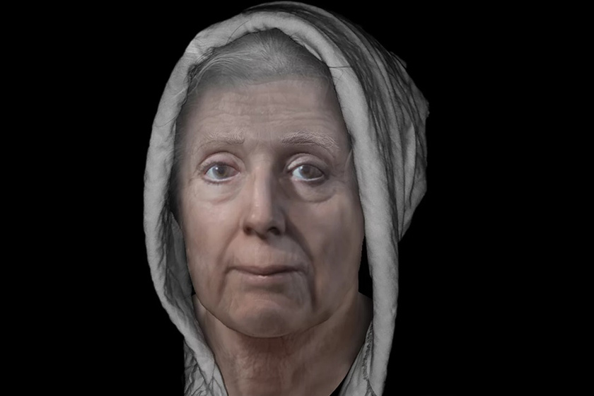Egy boszorkány arca: tudósok rakták össze a koponya alapján