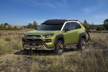 Kaland-jármű, a Toyota szerint