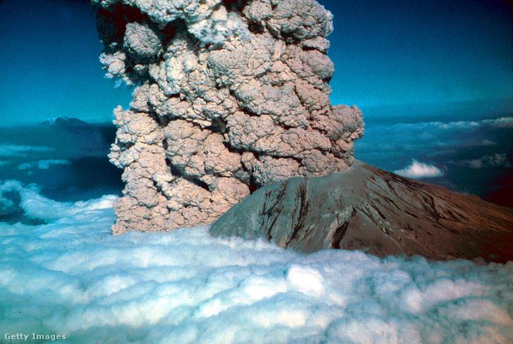 1980-ban tört ki a Szent Ilona vulkán, aminke pusztító erejű robbanására senki sem számított