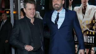 Matt Damon reagált Ben Affleck rémesnek tartott háttetoválására