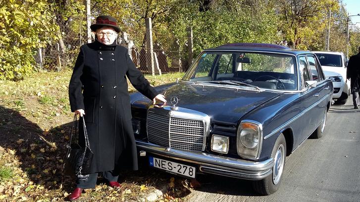 Anyukám, 84 évesen, a gyerekkori barát, Nepp Dodi temetésén
