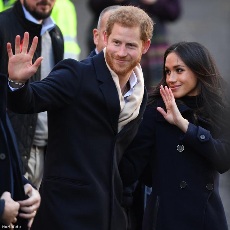 Katalin hercegné és Vilmos végre fellélegezhetnek kicsit, ugyanis jelenleg mindenki Harry hercegre és a menyasszonyára, Meghan Markle-re kíváncsi.