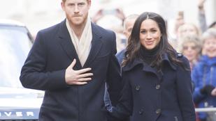Íme Harry herceg és Meghan Markle munka közben, amint hivatalos sétát tesznek