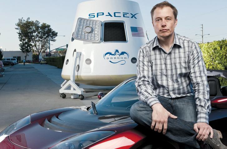 Musk és Roadstere