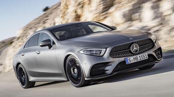 Mercedes CLS 1,5 literes motorral? Létezik.