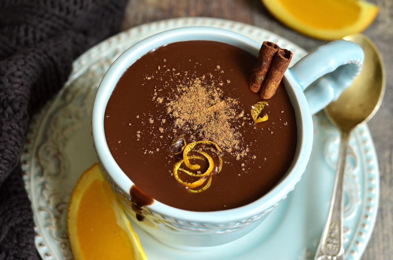 Karácsonyi narancsos forró csoki: pikk-pakk elkészül, és nagyon krémes