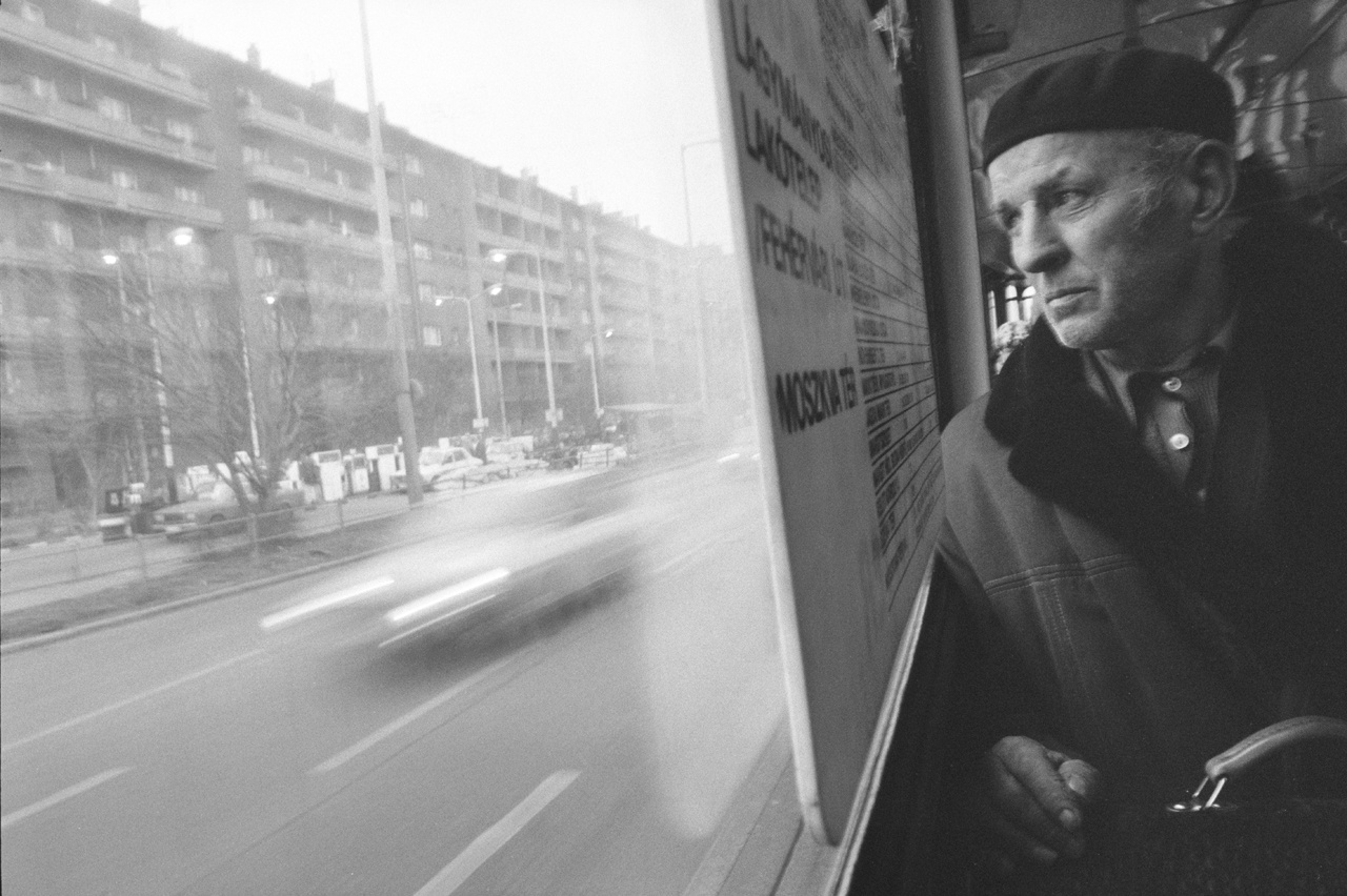 """""""Tudja, Péter, itt Pesten én olyan semmi ember vagyok."""" Skarbit András a villamoson, 1986-ban."""
