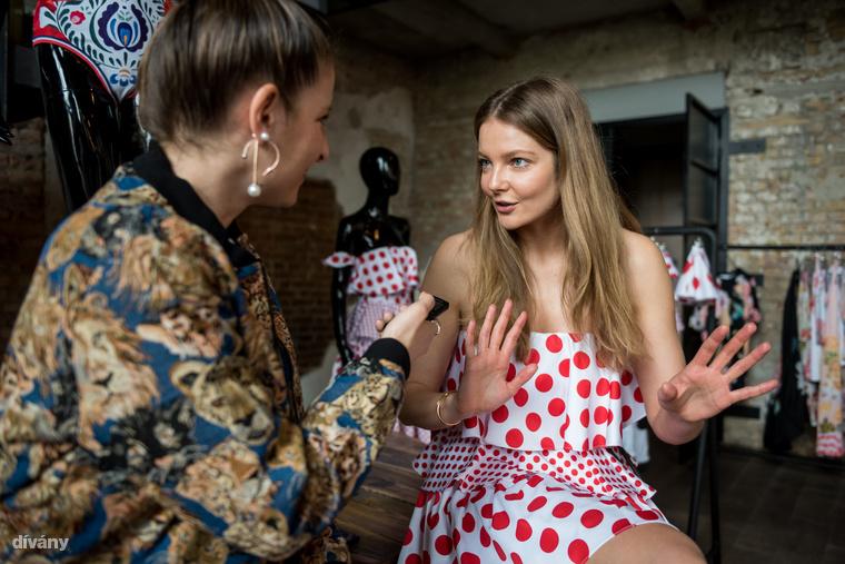 Villáminterjúztunk Mihalik Enikővel: a modell szereti a Sugarbirdöt, tetszik neki a márka fejlődési iránya és szerinte ez az első magyar márka, ami Amerikában is megveti a lábát