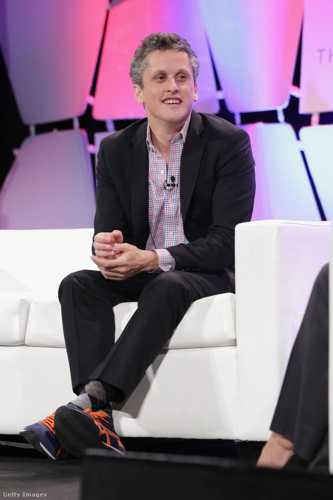 Aaron Levie a Box 31 éves vezérigazgatója, akinek az Asics 'Onitsuka Tiger' cipője az egyik kedvence