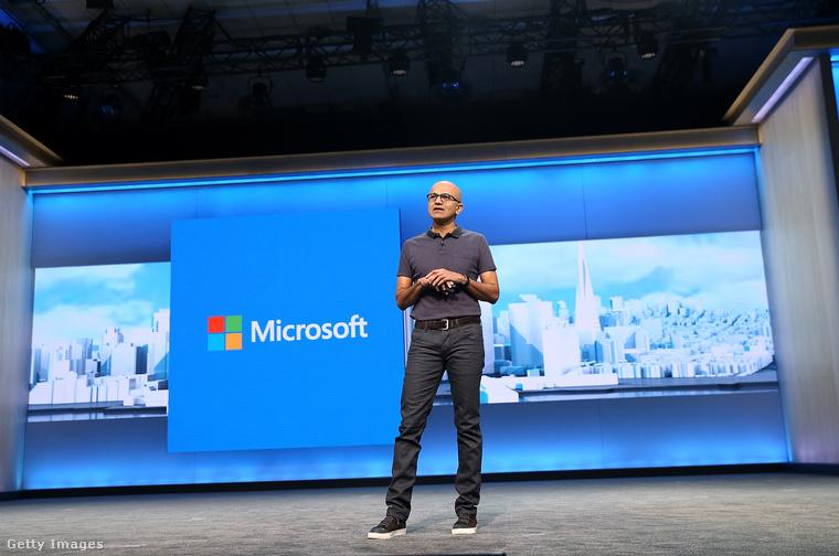 Satya Nadella 2014 februárjában lett a Microsoft cégvezetője