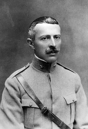 Sidónio Pais katonazubbonyban 1917–1918 környékén