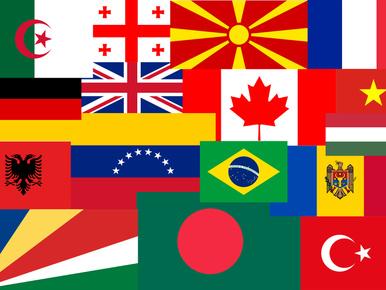 Találja ki zászló alapján, hol születtek ezek a sztárok