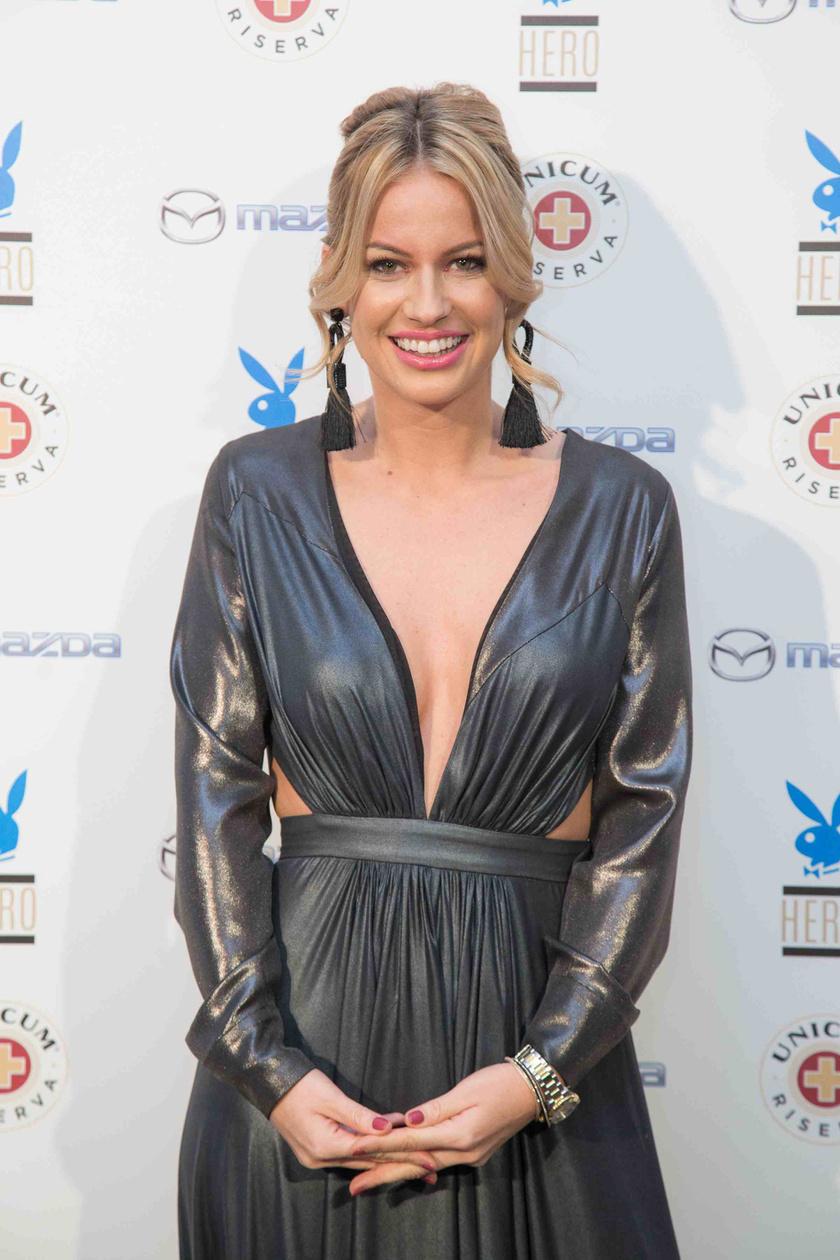 A harmadik Playboy Hero jótékonysági kampány gálaestjének Mádai Vivien volt a háziasszonya.