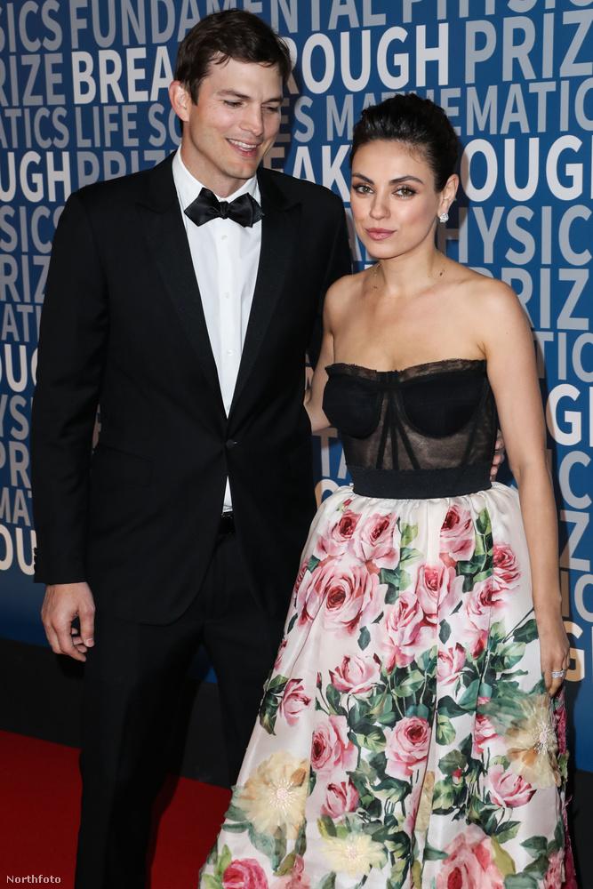 Kíváncsiak lennénk, hogy Mila Kunis vajon miért ölt szemmel az estén.