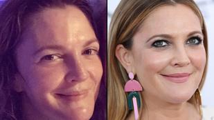 Kegyetlen sminktelen fotókat készítenek magukról a külföldi celebnők