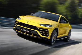 Leleplezték az új terep-Lamborghinit