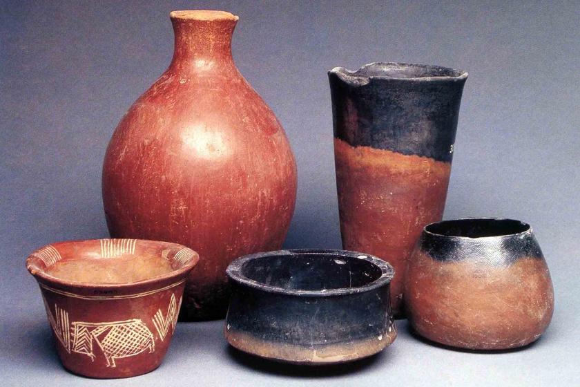 Más, a Nagada kultúrából származó régészeti leletek.