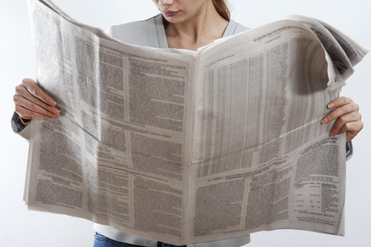 Napilapok, havilapok és gyakorlatilag az egész nyomtatott média a végét járja, a cikk szerint 2020-ra teljesen eltűnhetnek ezek az újságok