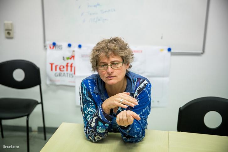 Mari Steindl, a Jugendcollege igazgatója