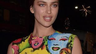 Annyi a Marilyn Irina Shaykon, hogy káprázik a szemünk