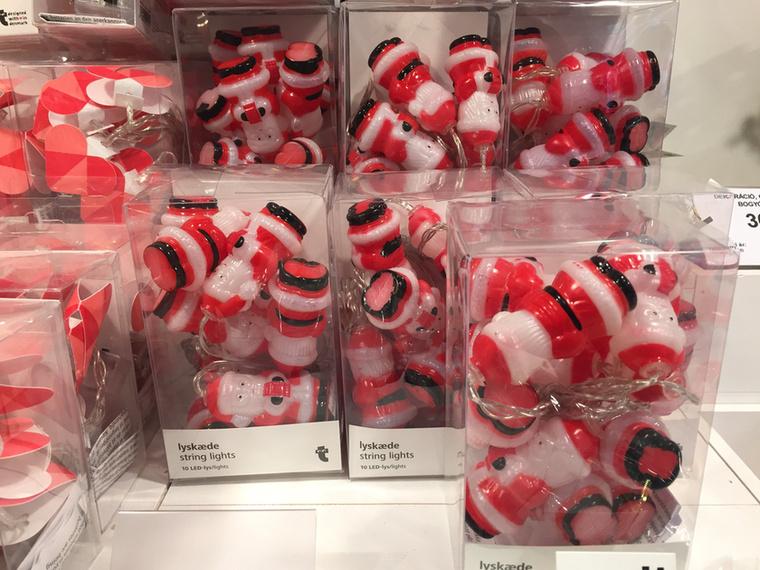 A Tiger is kitett magáért a karácsonyi dekorációs időszakban