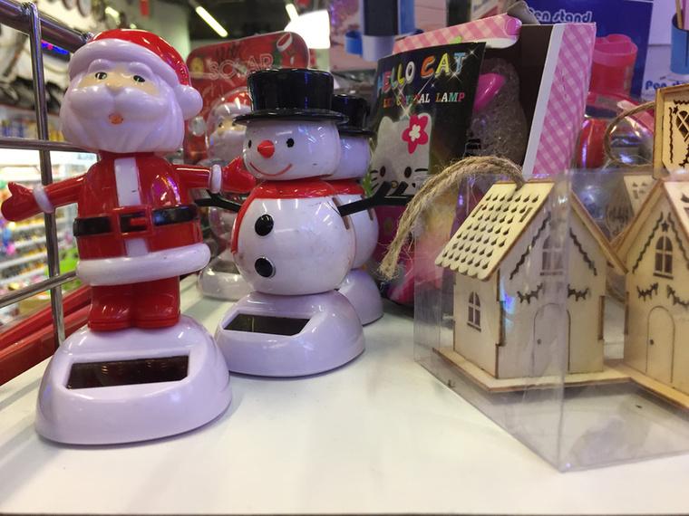 Karácsonyi kiegészítőkben szintén nagy a választék