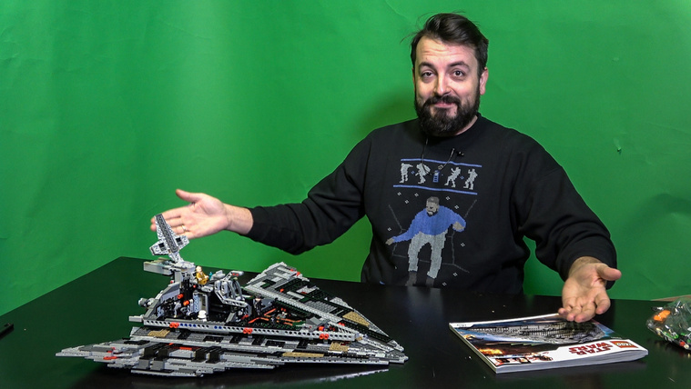 Megküzdöttünk egy 1416 darabos Star Wars-legóval